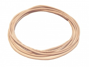 White wire 0,25qmm with silicon insultion